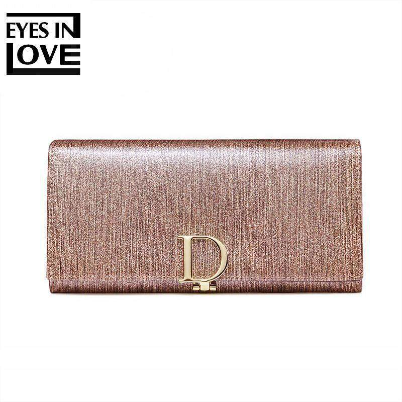 3a7b8e529f350 Kroean Genuine Leather Wallet Long Women 3 Fold Coin Purse 2018 Ladies  Cowhide Handbags