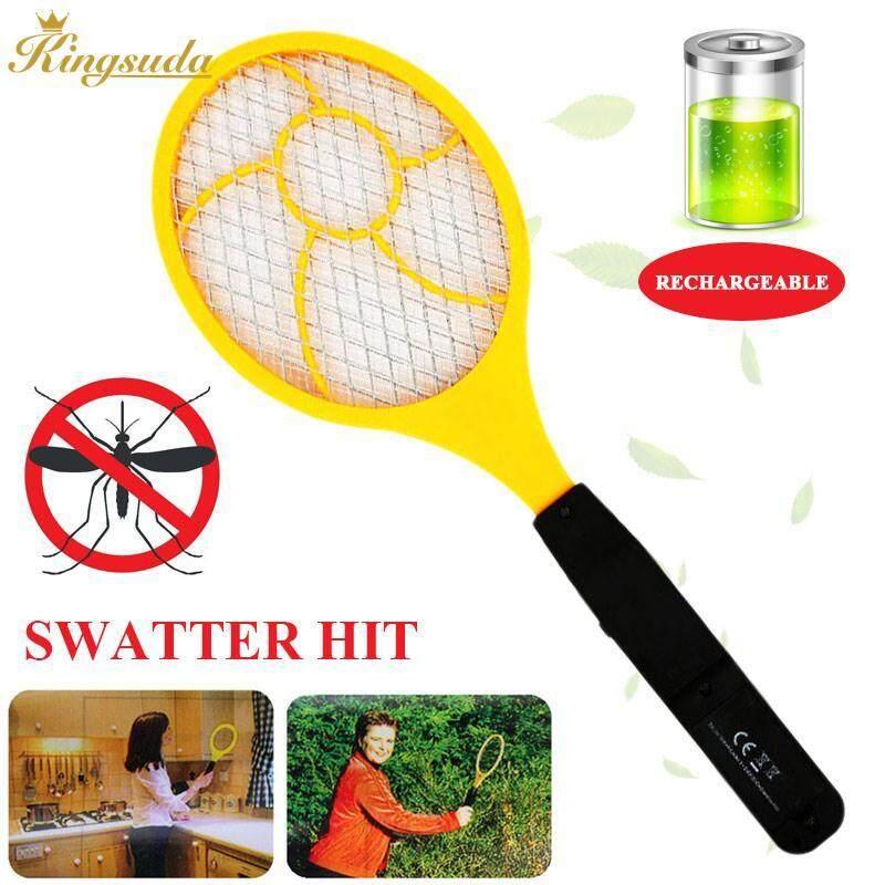 Kingsuda Electric Mosquito Swatter Electric Tennis Racket Practical Handheld - intl - 3 .