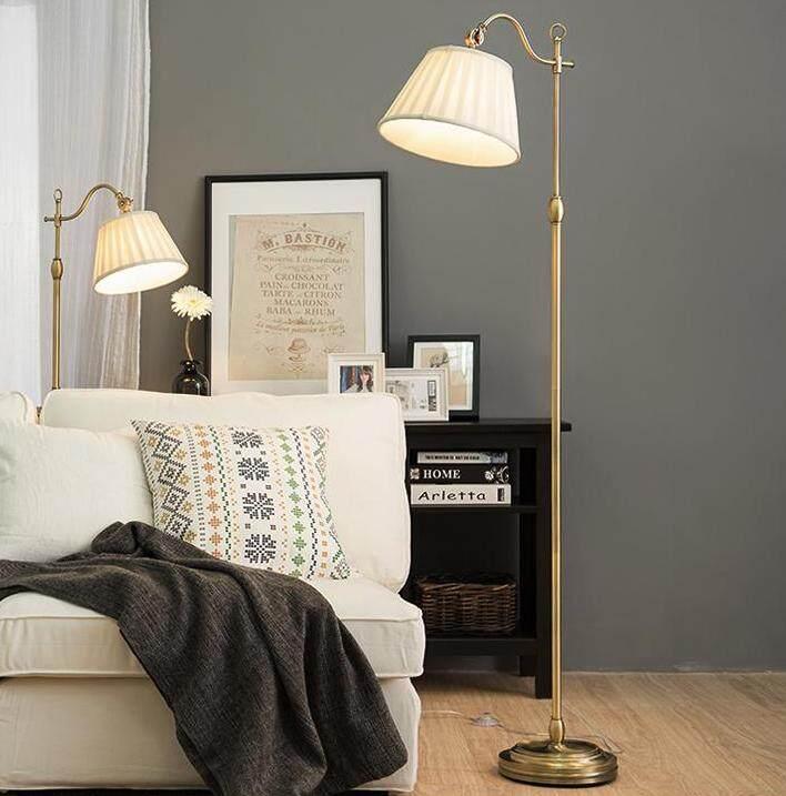 Living Room Minimalist Modern Floor Lamp, Creative Learning Lamp, Nordic Style Bedroom Bedside Lamp Floor Lamp