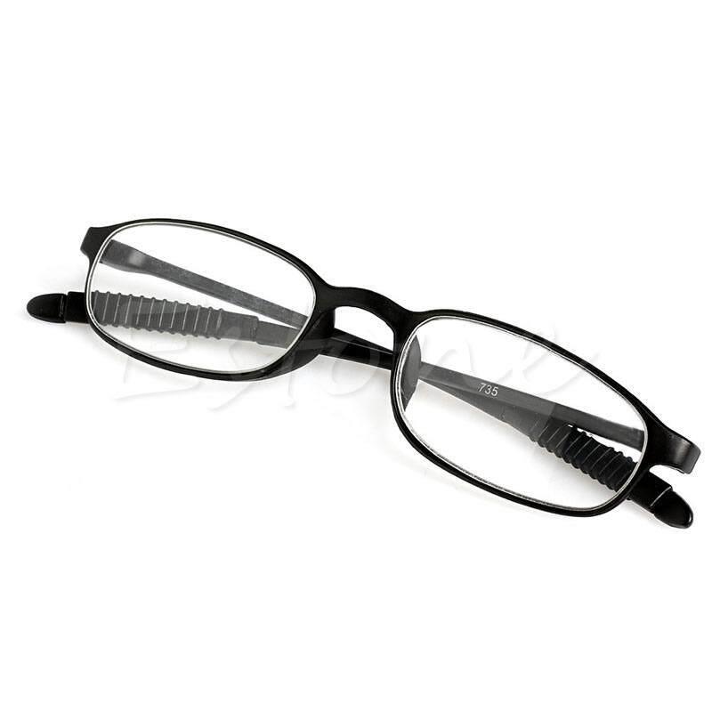 Price Checker TR90 Wanita Pria Kacamata Baca Fleksibel Pembaca Kekuatan Kacamata Presbiopi-Intl pencari harga