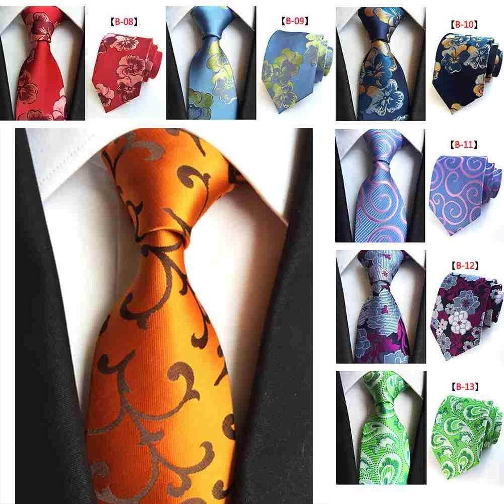 Kleidung & Accessoires Herren-accessoires Premium Silk Classic Brown Men Tie
