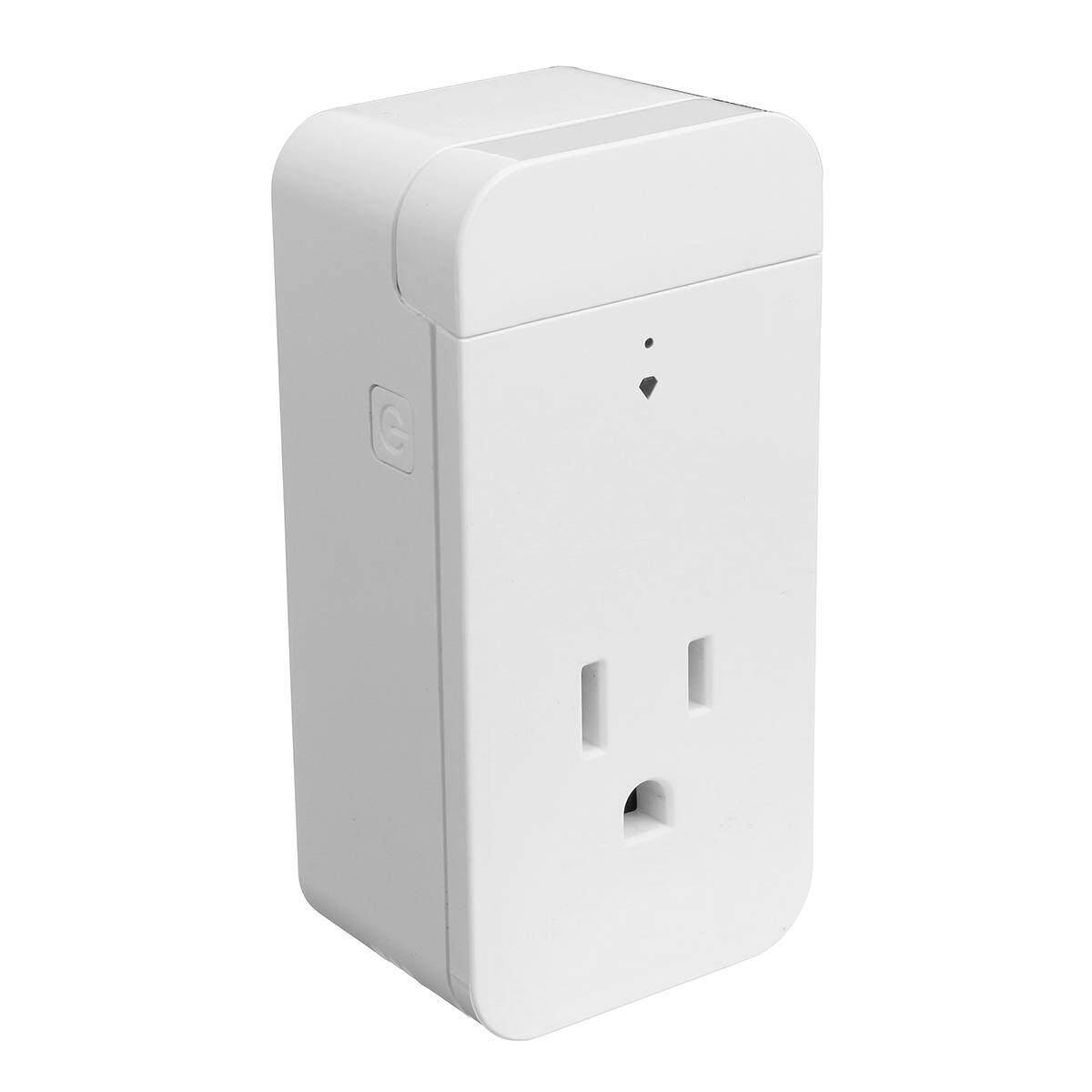 US 110-130V Smart Socket 16A 2000W WIFI Amazon Alexa Voice APP Remote Control - intl