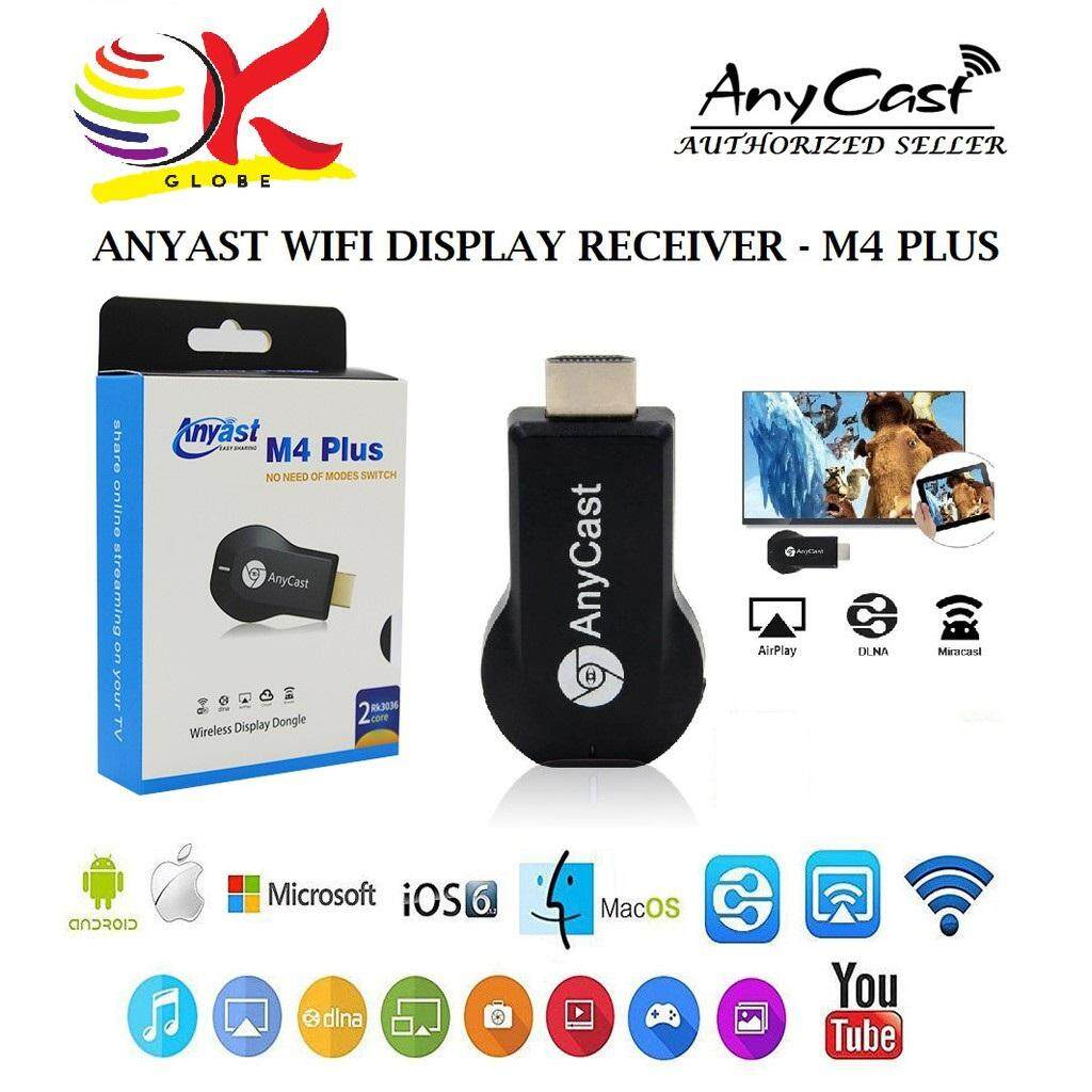 Anycast M4 Plus Features Wireless Display Dongle Dan Harga Terbaru Genuine Dlna Airplay Wi Fi Miracast Tv