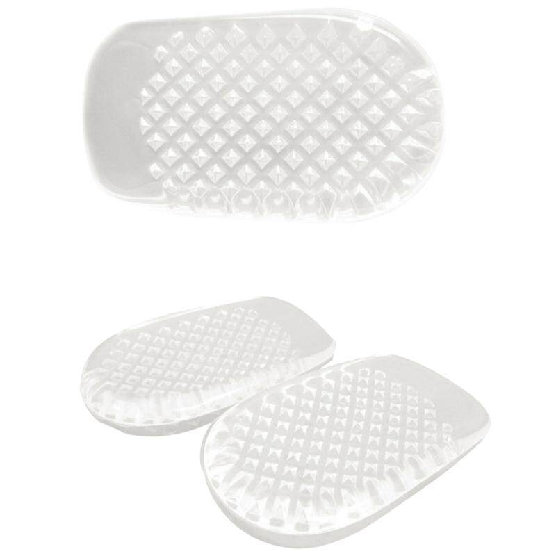 Gel Heel Cups Pads for Plantar Fasciitis Sore Feet Bruised Foot Pain Relief Bone Spurs Treatment Shoes Support Protectors (2 Pairs)