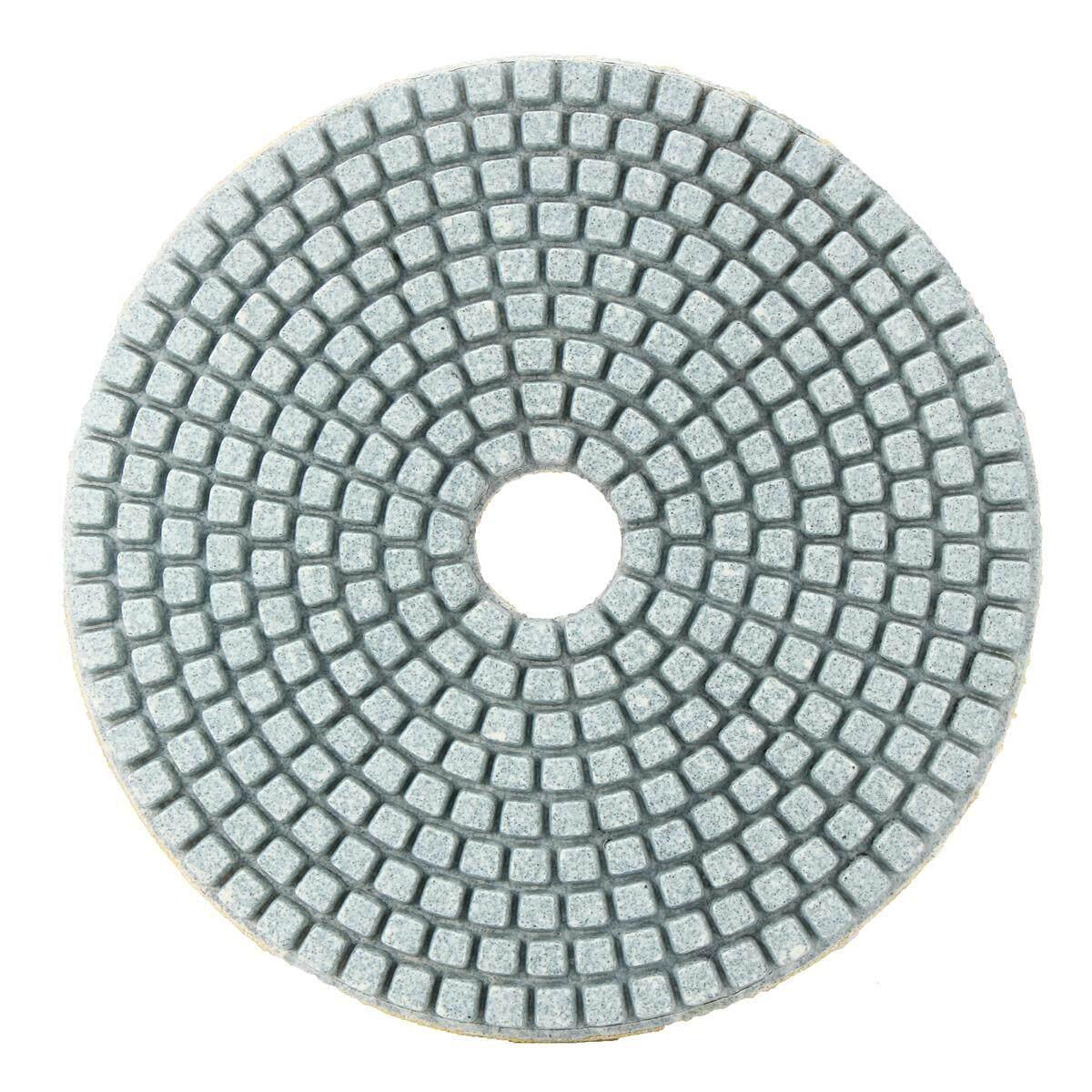 5 Inch 100 Grit Model Wet Dry Diamond Polishing Pads Sanding Disc Concrete Granite Glass Marble