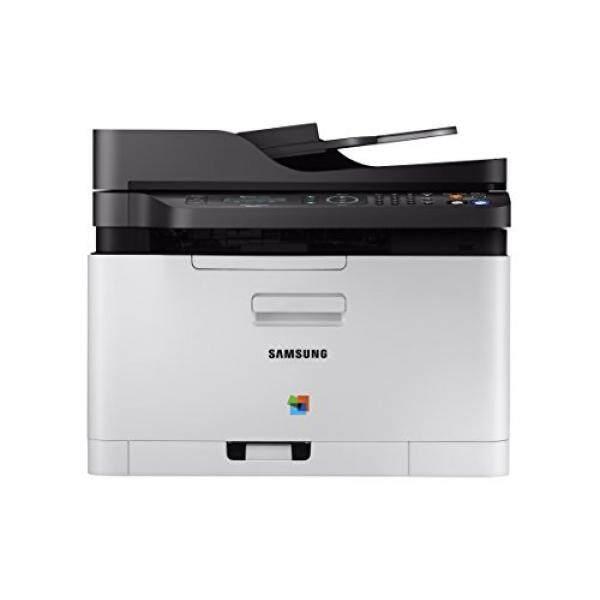 (Harga Tersembunyi) SAMSUNG Xpress C480FW Nirkabel Printer Laser Warna Scan/Copy/Fax sederhana NFC + Konektivitas Wifi dan Built-In Ethernet Amazon Dash Pengisian Diaktifkan (SS256H)