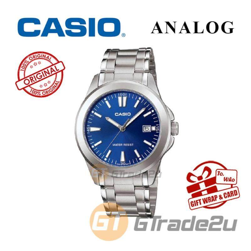 CASIO CLASSIC ANALOG MTP-1215A-2A2V Men Watch  Steel Date Display Malaysia