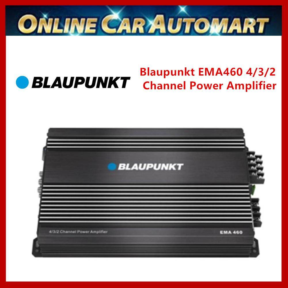 Blaupunkt EMA460 4/3/2 Channel Power Amplifier