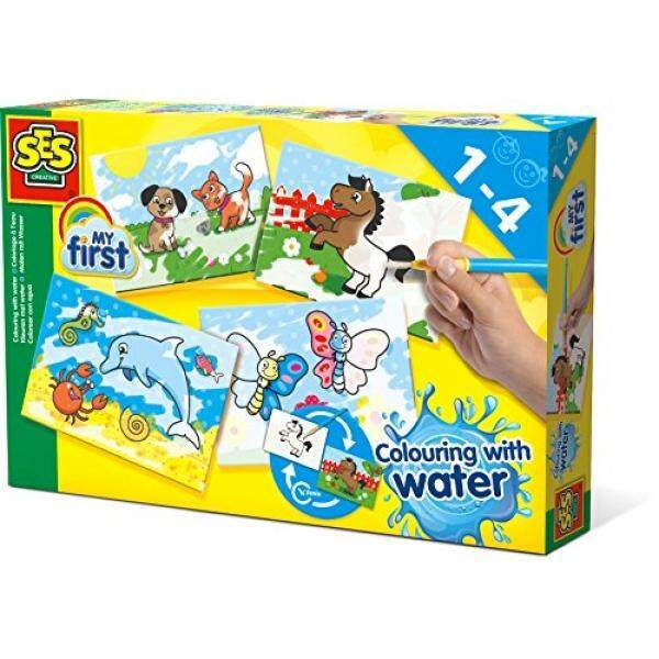 SES Creative My First Coloring with Water Fun to Create Kit