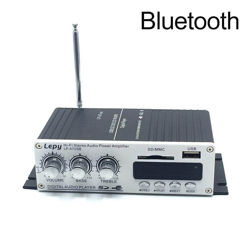Niceeshop Mini Amplifier Bluetooth 4.2 Digital 2 Channel 20w Hifi Amp Super Bass With Blue Led Indicator Dc 12v 2a For Home Car By Nicee Shop.