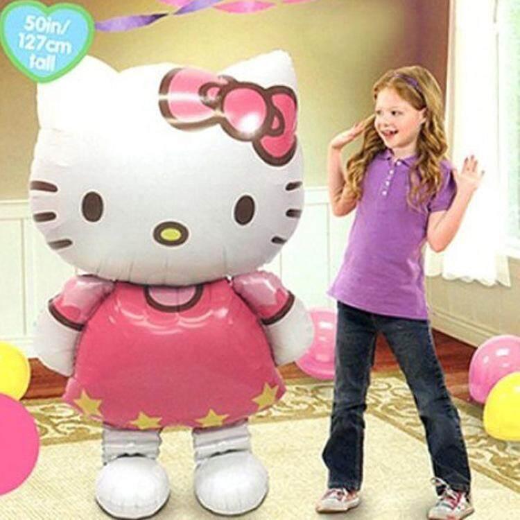 Happy Birthday Party Balloon Party Celebration Belon Hari Jadi Kitty Cat ( 70cm x 114cm )