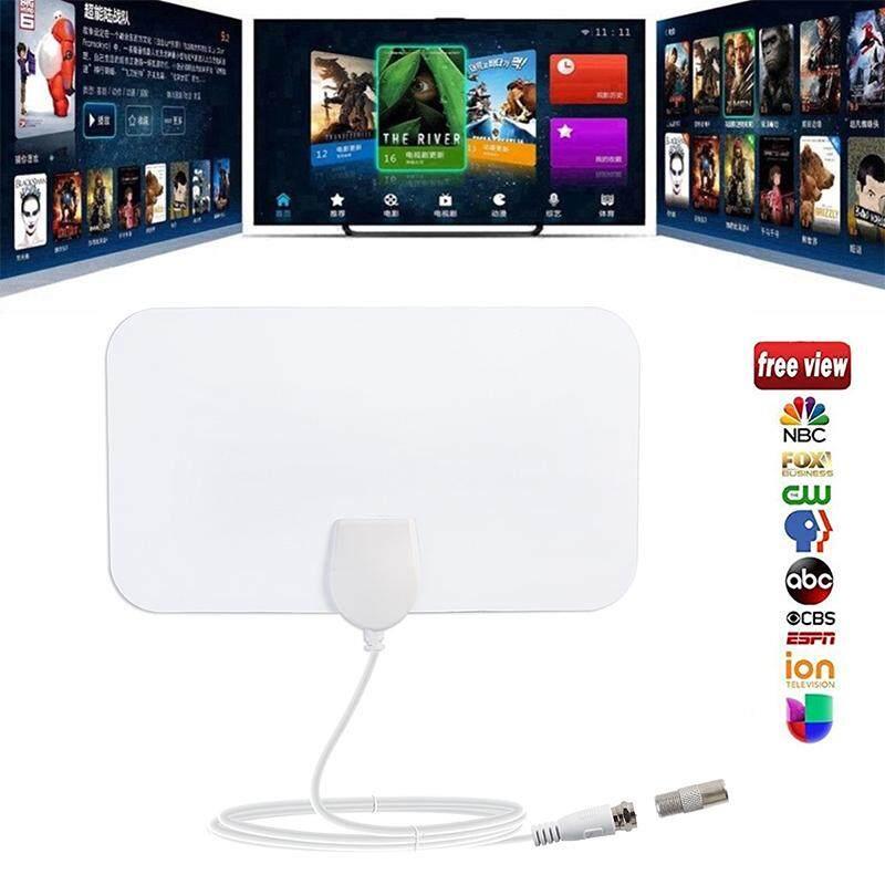 Trong nhà Miễn Phí TRUYỀN HÌNH Lướt Bán Kính Antena Kỹ Thuật Số HDTV TRUYỀN HÌNH Cáp Fox Ăng Ten DVB-T/T2 VHF UHF TVSurf Antenas Đầu Thu trắng