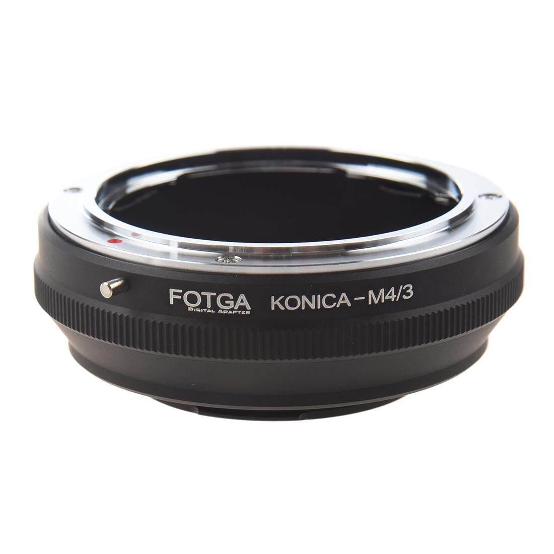 FOTGA Konica-M4/3 Adapter Digital Ring Konica AR Mount Lens to Mini 4/3 Mount Camera (for Panasonic G1 G2 G3 G5 GH1 GH2 GH3 GF1 GF2 GF3 GF5 GF6 GX1 GX2 and Olympus E-P1 E-P2 E-P3 E-P5 E-PL1 E-PL2 E-PL3 EPL5 EM-P1 EM-P2)