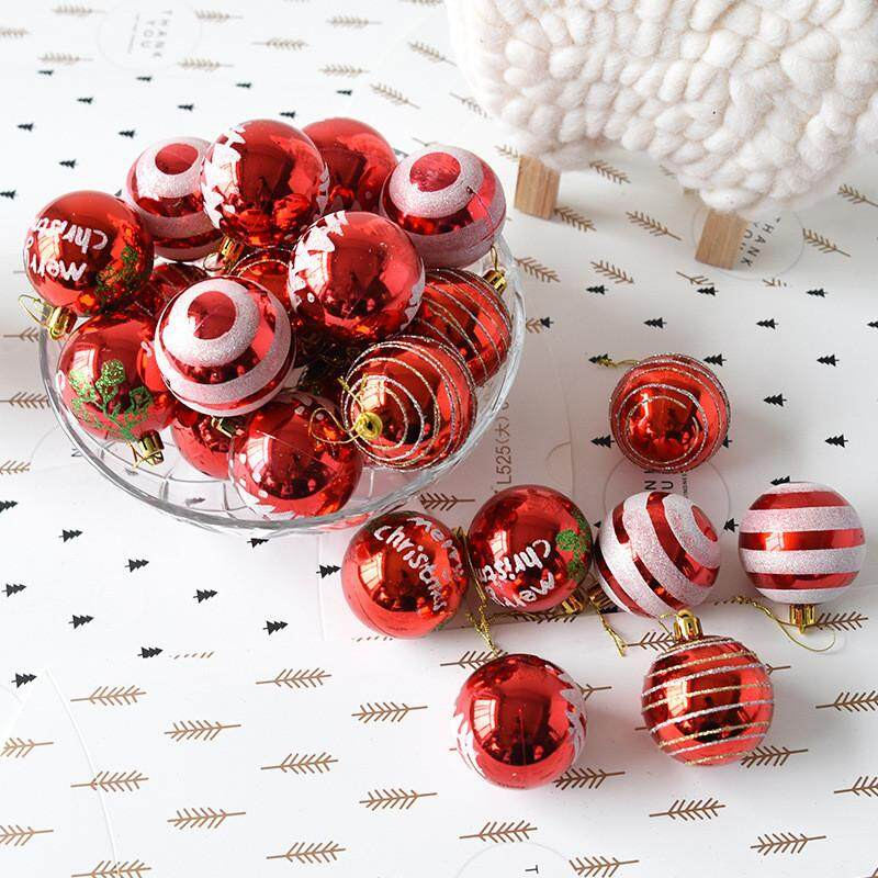 Christmas Balls Baubles Party Xmas Tree Decorations Hanging Ornament Decor