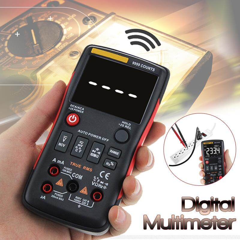 9999 Counts Digital Multimeter Volt Current Resistance Capacitance Temp Test