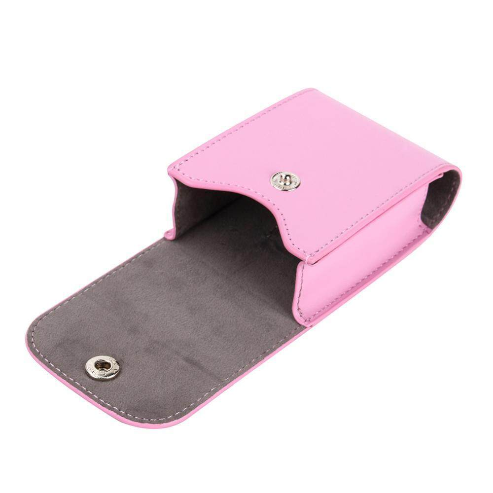 PU Leather Case Bag For Polaroid Fujifilm Instax Mini Photo Films & Lens Storage