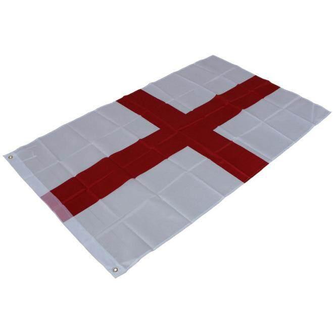 Fanestiy 3X5 Bendera Inggris Cross St. George Bahasa Inggris Spanduk Dalam Luar Ruangan