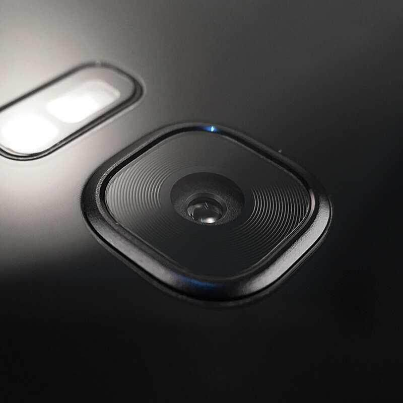 M_home Ultra-tipis Anti-sidik Jari Lembut Bening Kaca Melunakkan Kamera Lensa Pelindung untuk Samsung S8/S8Plus/ s7 Sisi-Internasional