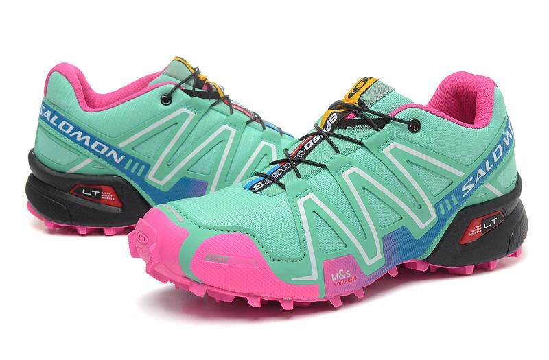Waktunya Promosi Asli Outdoor Speedcross3 Hiking SEPATU Bebas-Slip Kasual Speed_Cross 3 Sneakers Wanita Ukuran EU36-41 5 Warna