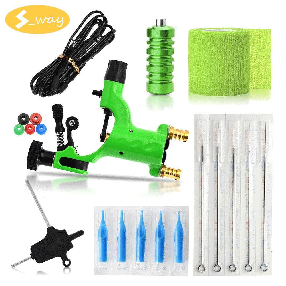 Sway Rotary Tattoo Machine , NEW Dragonfly Liner Shader Rotary Motor Tattoo Machines Supplies Tool Set