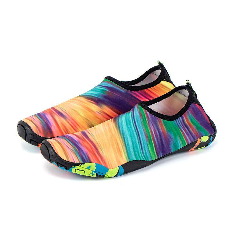 Water shoes for women breathable sneakers shoes Beach shoes lovers Wade surfing shoes Swimming shoes for