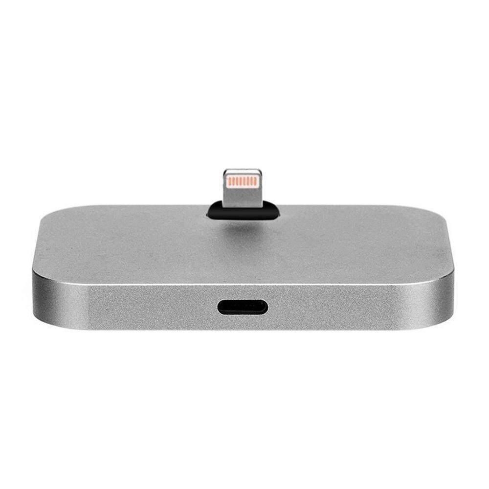 Wedzwe Terbaik®Aluminium Aloi Dok Pencahayaan Pengisian Dock Sinkronisasi untuk iPhone 7, Iphone 6 S, Iphone 6 S Plus, Iphone 6 S, iPhone 5 S, IPhone5, Dll