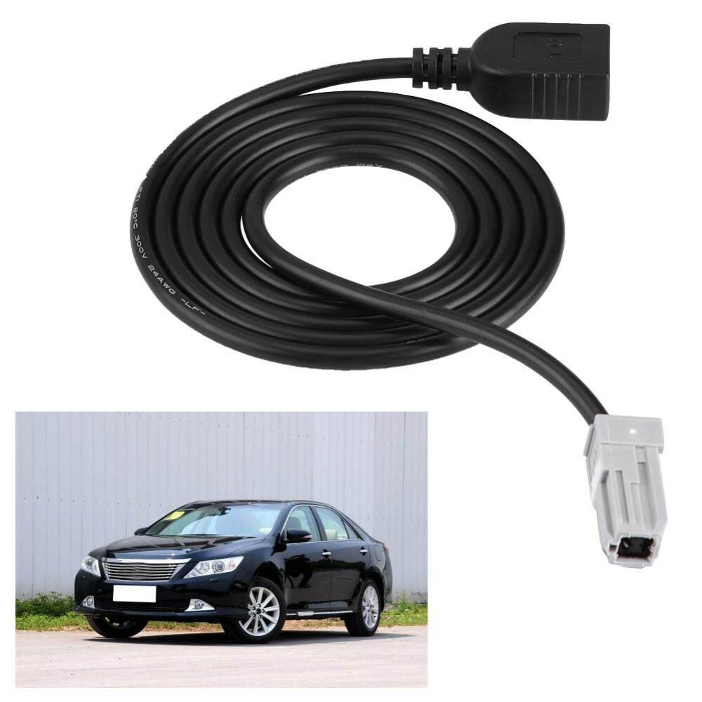 Review Car Audio Mp3 Input Aux Usb Adapter Cable For Toyota Camry