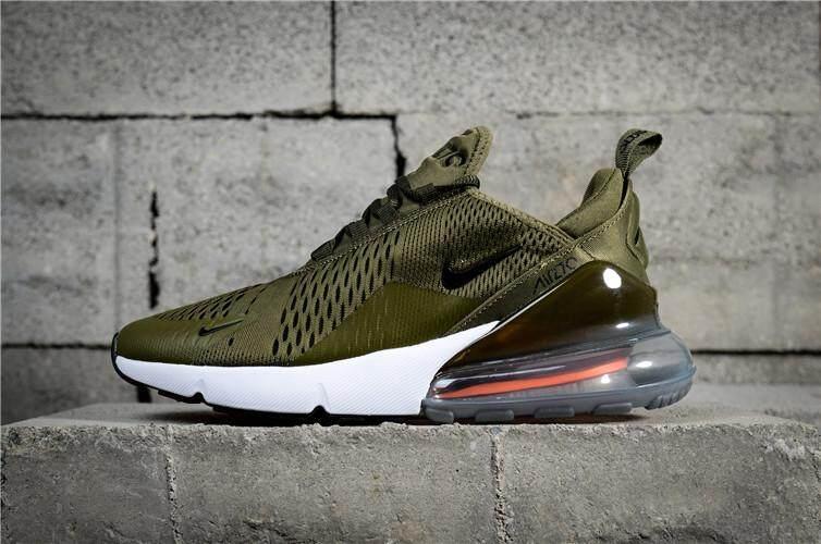 Nike Resmi AIR MAX 270 Low Top Pria Penjualan Global Sepatu Lari EU 40-44 5a2dba16a9