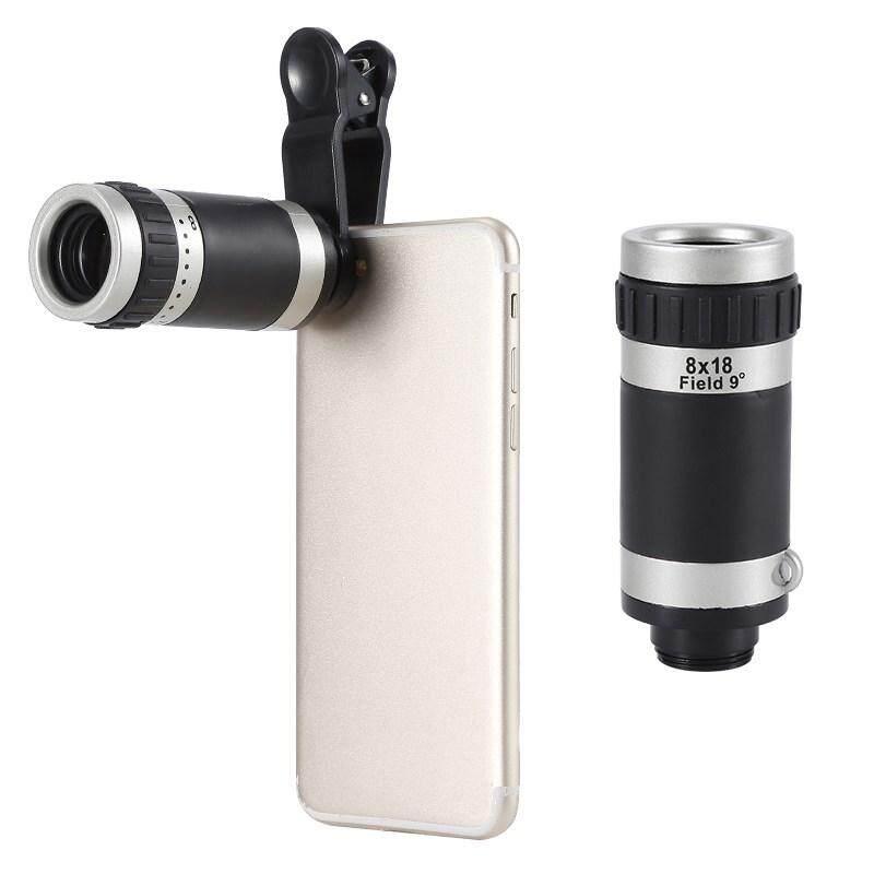 Poya 8x Zoom HD Monokuler Optik Lensa Teleskop Kamera Ponsel