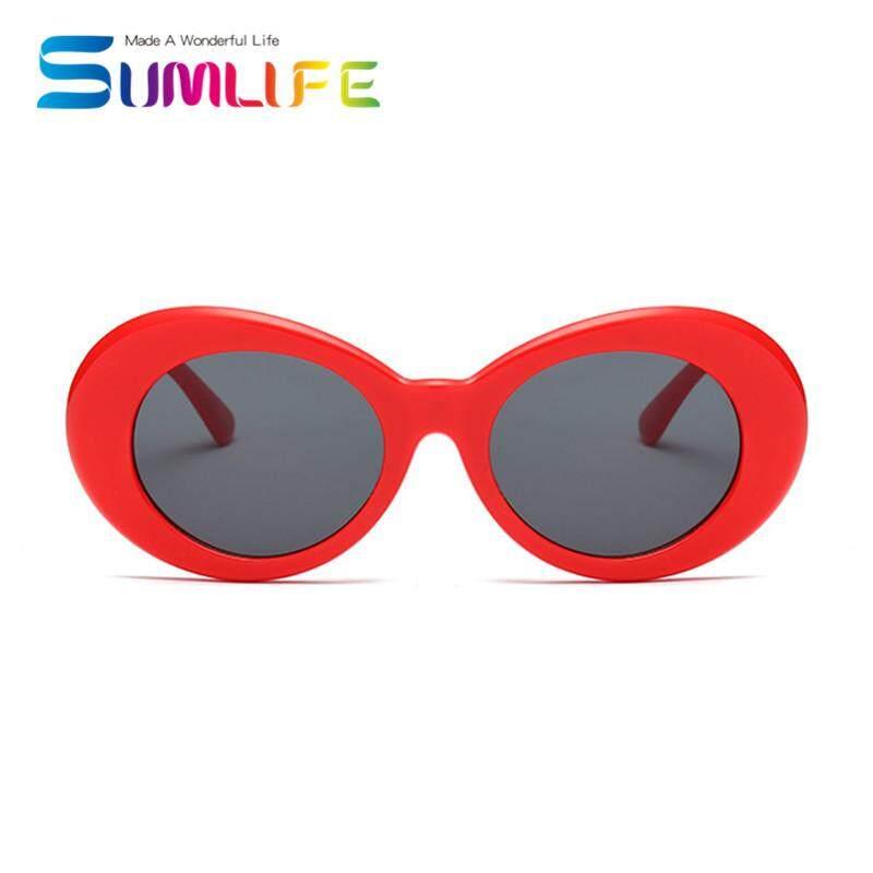 New Retro Small Box Sunglasses Men and Women Trend Sunglasses -White Box .