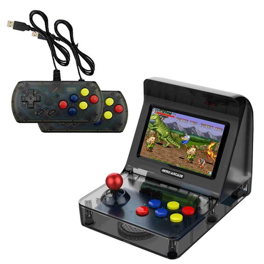 Goodgreat Retro Konsol Game Genggam, Mini Konsol Permainan RS-07-3000 Built-In Game Retro, 64bit Prosesor Dual Core, 4.3