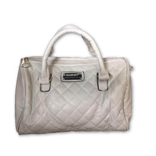 Quilted Bowling Bag (Grey)