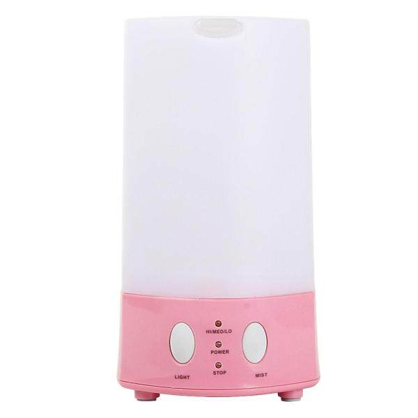 yukufus Mini 120ml Aromatherapy Essential Oil Diffuser Aroma Atomizer Purifier Air Humidifier (Pink,US Plug) - intl Singapore