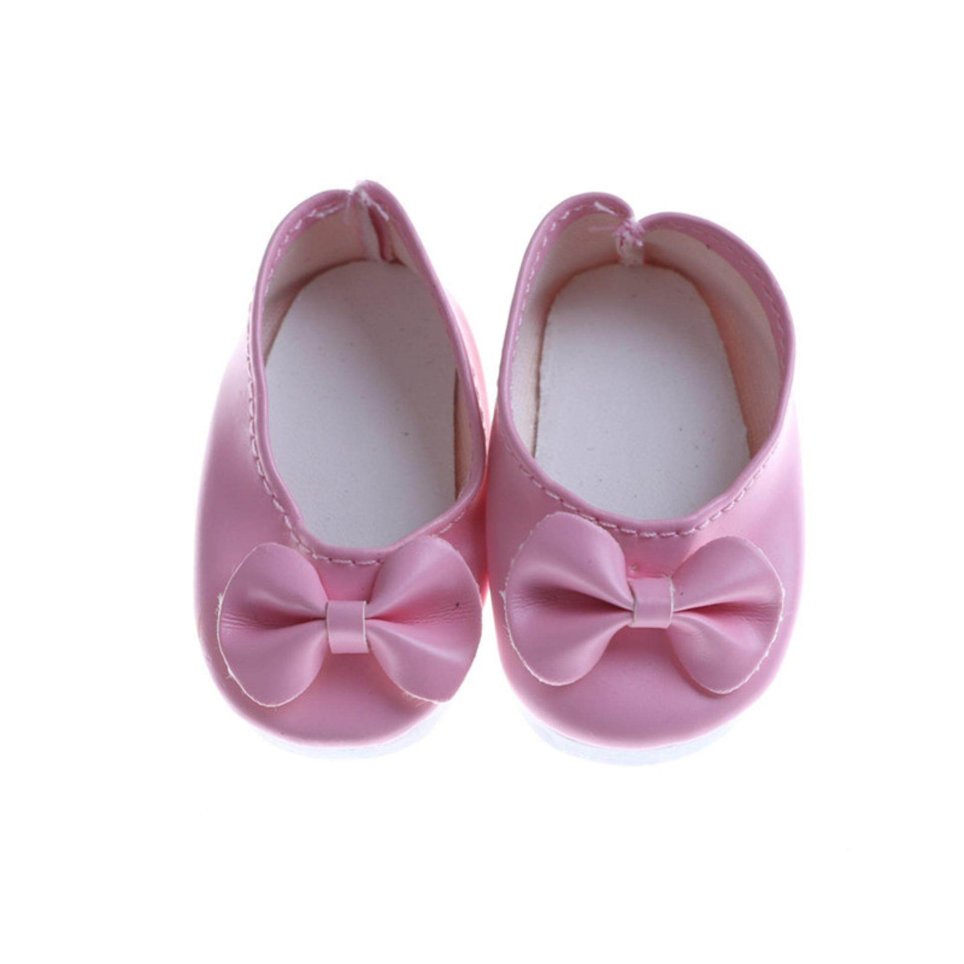 Doll Shoes Leather Shoes Fit 14.5 Inch American Dolls Accessories Dragon  Store Free Shipping 44d7f8b40b1d