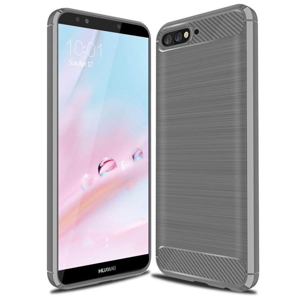 custodia in silicone huawei y6 2018