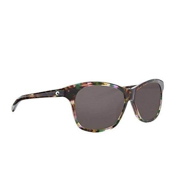 Costa Unisex Sarasota Shiny Abalone Frame/Gray 580g One Size - intl