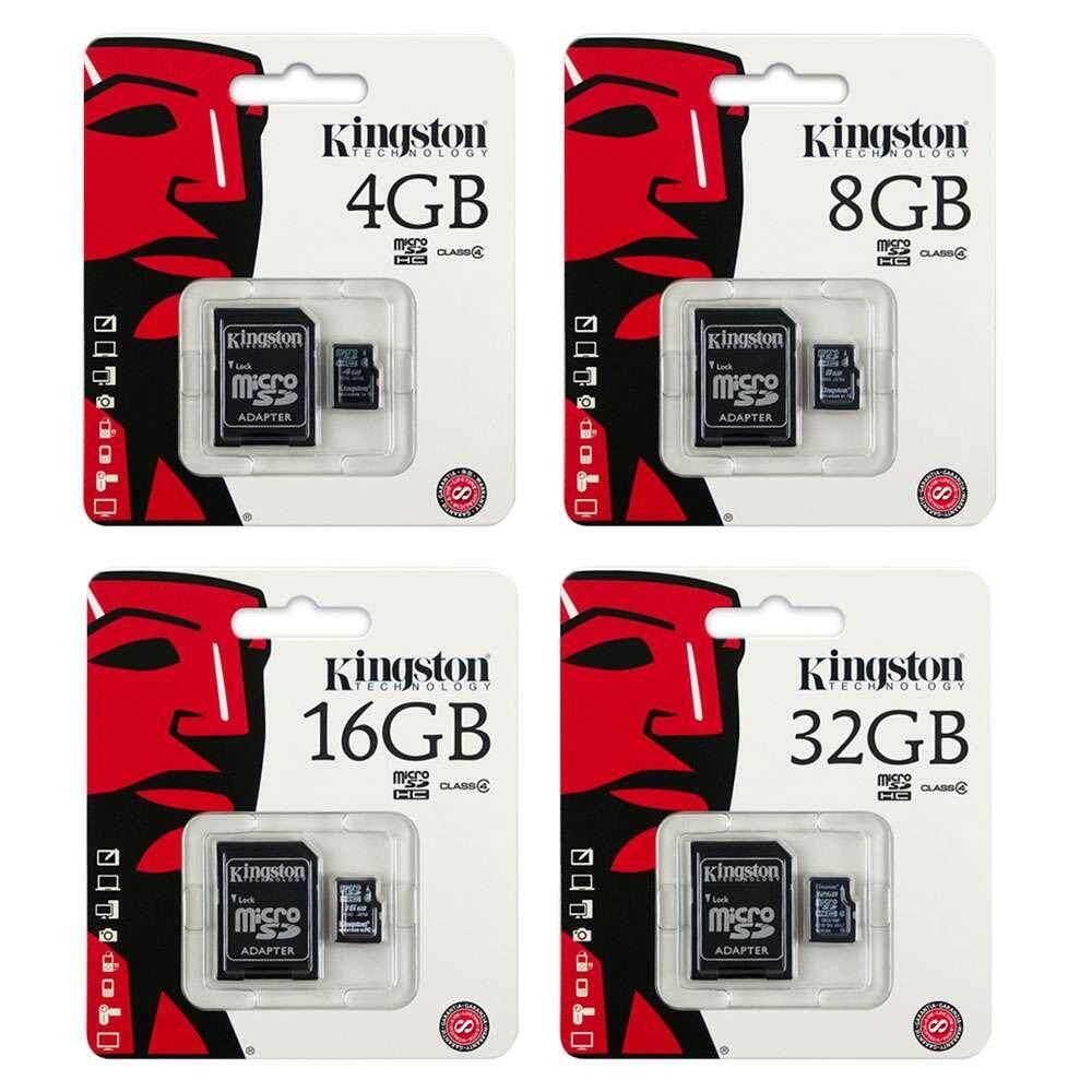 MICRO SD CARD 8GB, 16GB, 32GB, 64GB, 126GB CLASS 10  MEMORY CARD ( K I N G S T O N) CHEAPEST PRICE