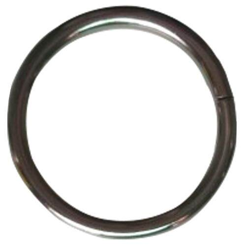 Metal Hoop Loop Key Ring Silver - 200pcs 20*18*2mm