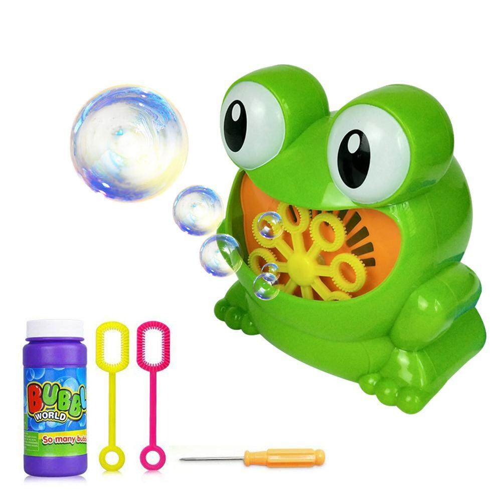 Goodgreat Bath Bubble Machine For Kids,durable Automatic Bubble Blower Maker With 1 Bottles Of Solution Refill ,easy To Use For Children, Parties, Wedding(frog) By Good&great.