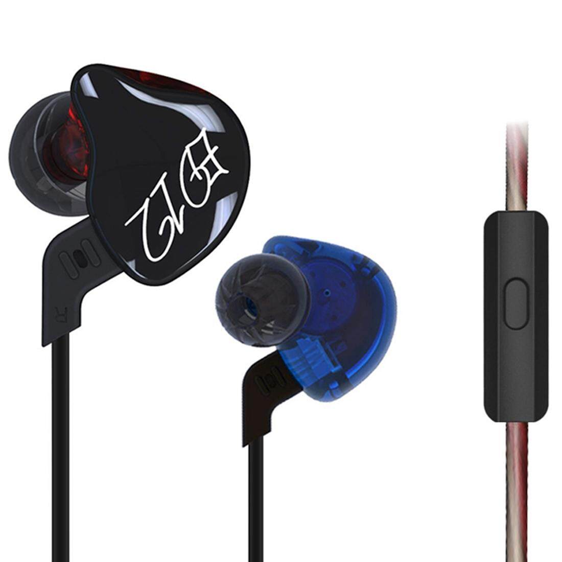 KZ ED12 1.2m 3.5mm Hanging Ear Sports Design In-Ear Style Wire Control Earphone, For iPhone, iPad, Galaxy, Huawei, Xiaomi, LG, HTC and Other Smart