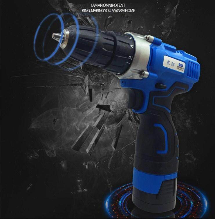 16.8V And 12V Electric Drill Screwdriver Multi-function Cordless Charging
