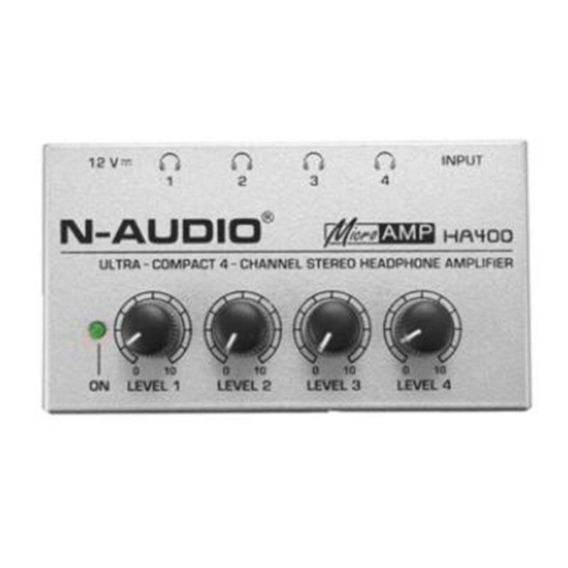 E-ERA HA400 Nhỏ Gọn 4 Kênh Âm Thanh Mini Stereo Tai Nghe Khuếch Đại Điện