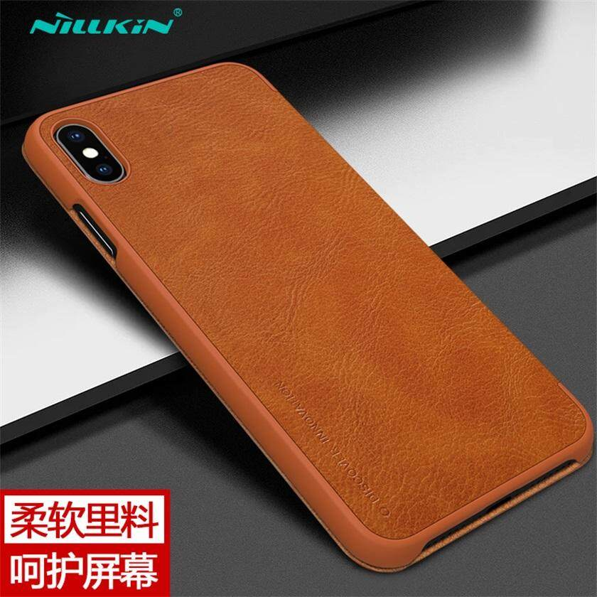 ... Nillkin Qin Luxury Wallet Pouch For Apple iPhone XS Max Leather Flip Cover Case (6.5 ...