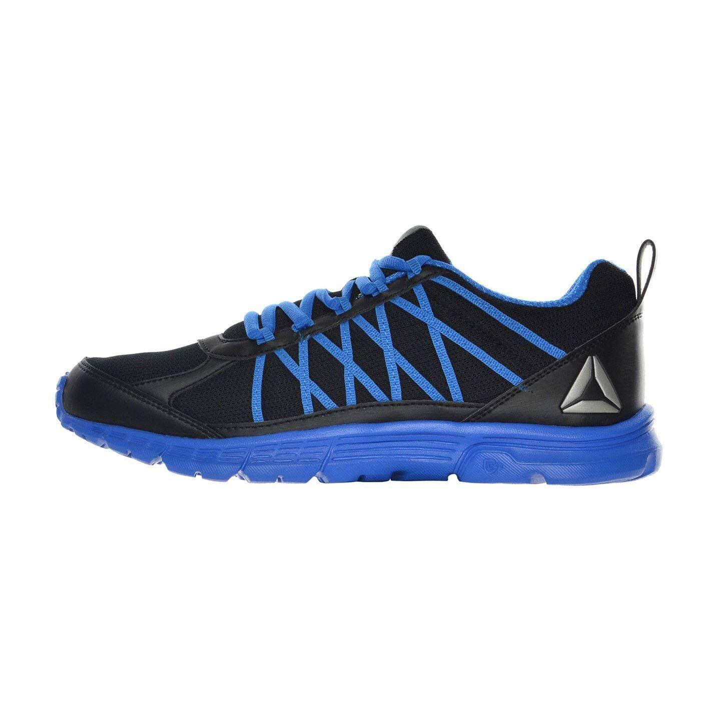 Reebok Mens Speedlux 2.0 Running Shoes (Black/Blue)