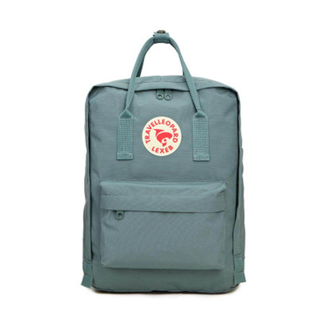 Te Unisex Fashion Wear-Resistant Rucksack Concise Solid Color Backpack Computer Bag School Bag By The Lv Shop.