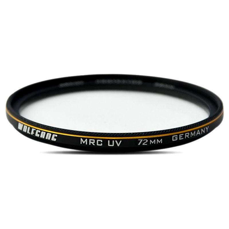 WOLFGANG 72mm Pro HD Super Slim MRC UV Filter Germany Glass Waterproof Nano Multi-Coated for Canon Nikon Sony Pentax DSLR Camera