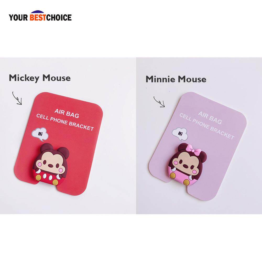 Popsockets Fashion Phone Holder iRing Expanding Stand Grip Pop Mount Hitam + Free Hook. IDR