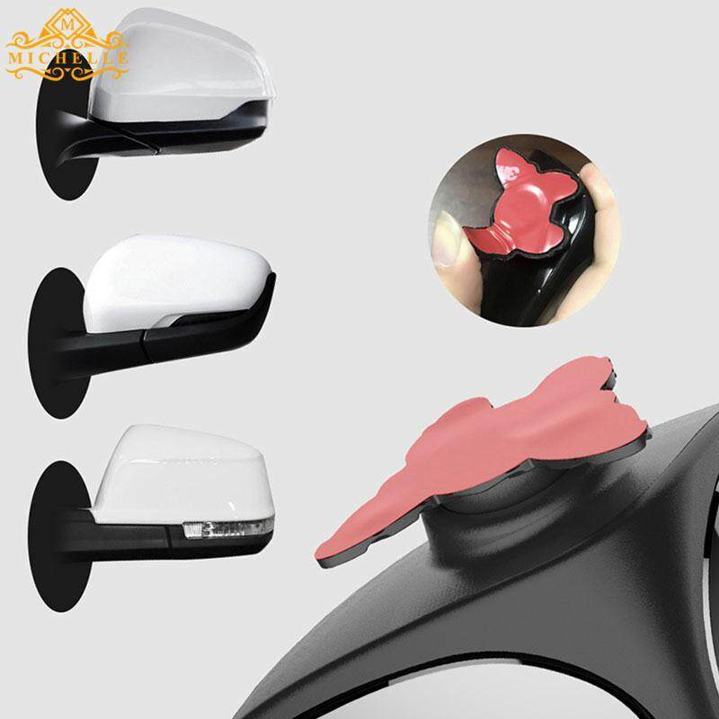 Blind Spot Cermin Cermin Tambahan Disesuaikan Stickup Abs Hitam Mobil Suv By Michelle Trading.