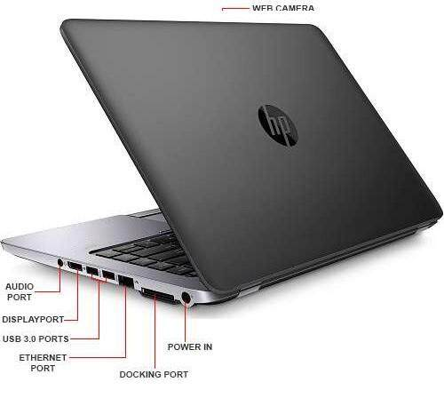 HP Elitebook 840 G1 / CORE i7-4600U CPU / 4GB RAM / 500GB HARD DISK STORAGE Malaysia