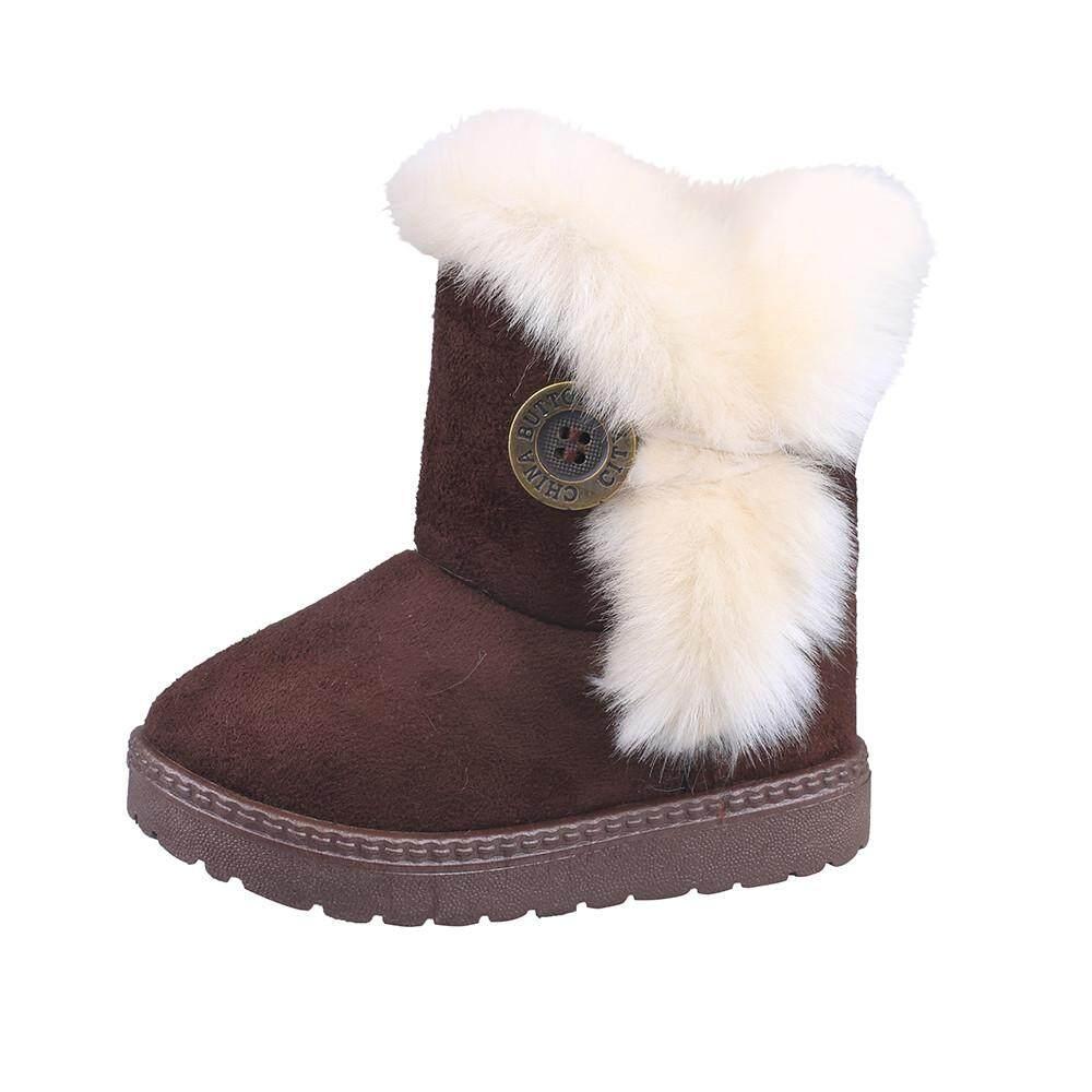 Lights & Lighting Baby High Tube Boots Winter Fashion Child Girls Snow Shoes Warm Plush Soft Bottom Baby Girls Boots Winter Snow Boot For Baby